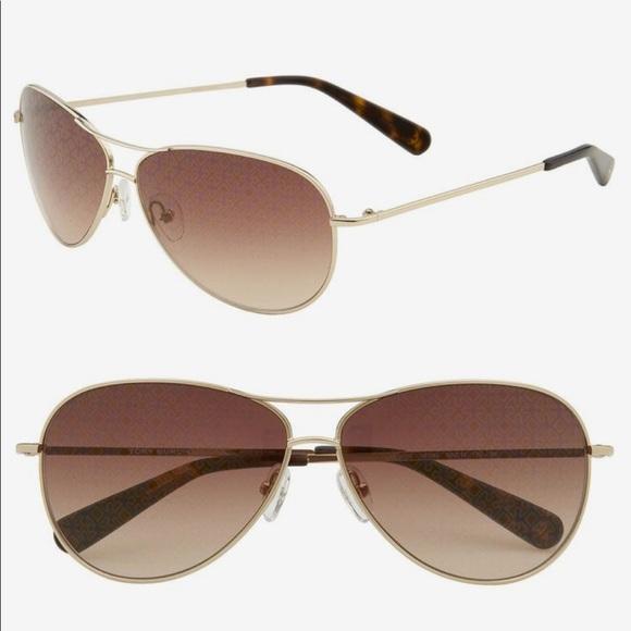 2579548d82 Tory Burch Accessories - Tory Burch Gold Aviator Sunglasses TY6006